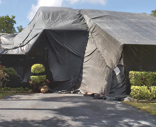 Termite Tenting In Miami Fumigation